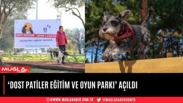 'DOST PATİLER EĞİTİM VE OYUN PARKI' AÇILDI