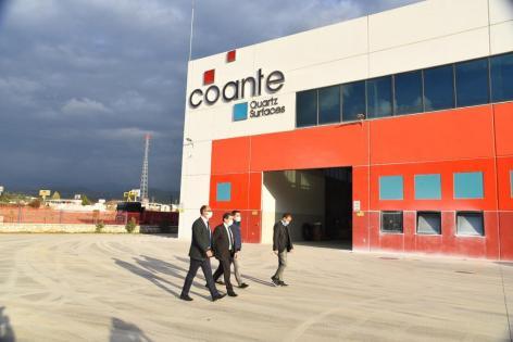Tavlı' dan COANTE firmasına ziyaret