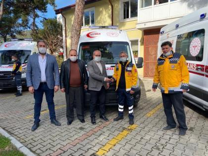 Bayır Mahallesi'ne ambulans desteği