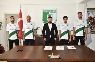 Bodrumspor'a 4 transfer