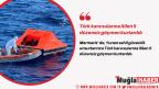 Türk kara sularına itilen 5 düzensiz göçmen kurtarıldı