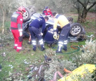 Yatağan'da feci kaza: 1 ölü