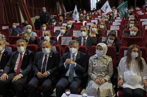 Gelecek Partisi Genel Başkanı Davutoğlu, partisinin Fethiye İlçe Kongresine katıldı