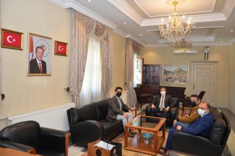 AA Antalya Bölge Müdürü Yıldırım, Muğla Valisi Tavlı ve Büyükşehir Belediye Başkanı Gürün'ü ziyaret etti