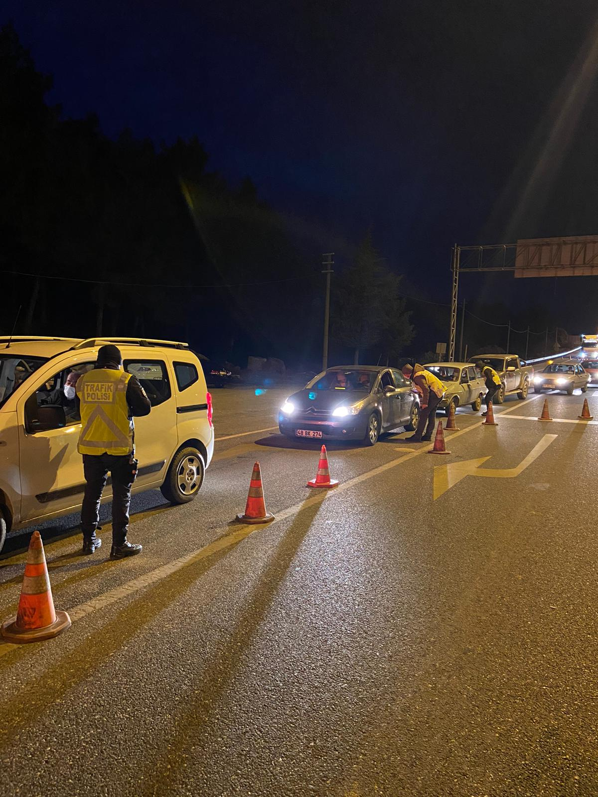 Sürücülere ceza yağdı