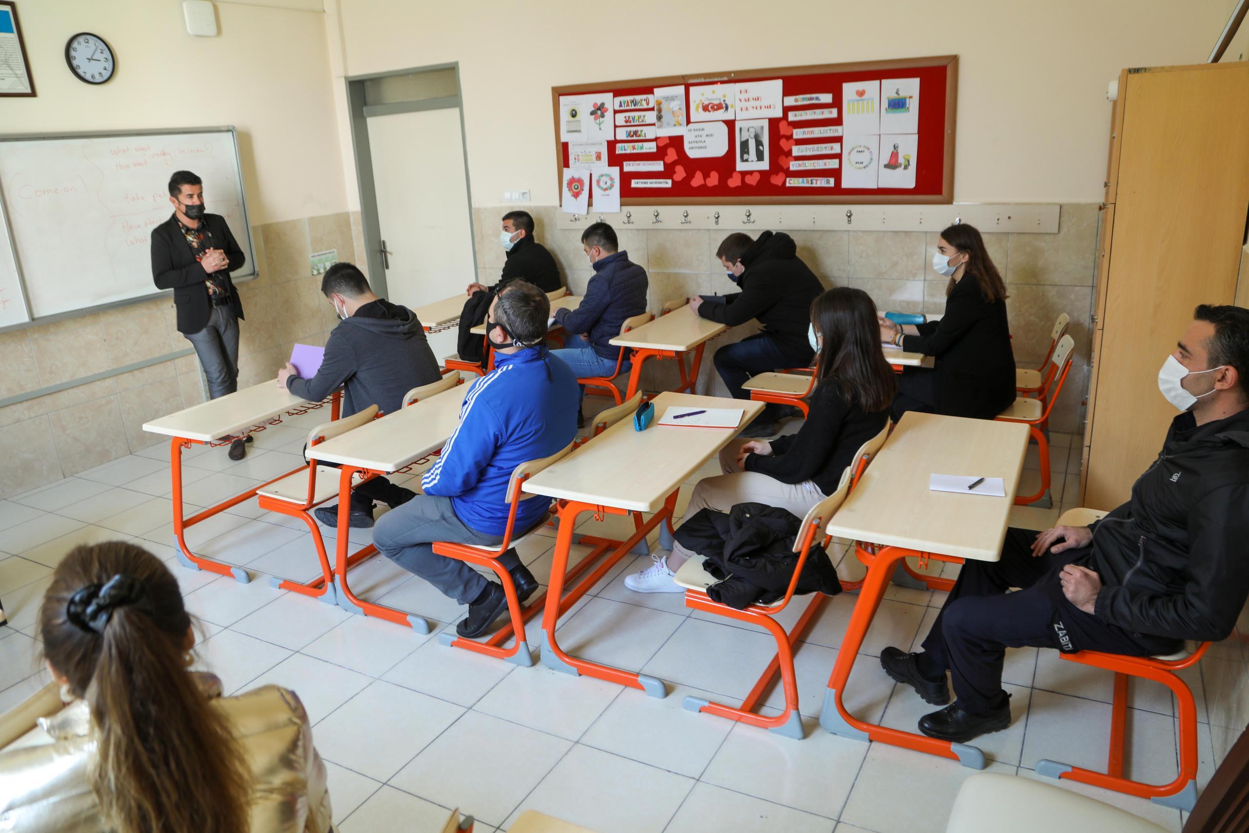 Bodrum Belediyesi Personeline İngilizce Eğitimi