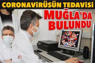 CORONAVİRÜSÜN TEDAVİSİ MUĞLA'DA BULUNDU