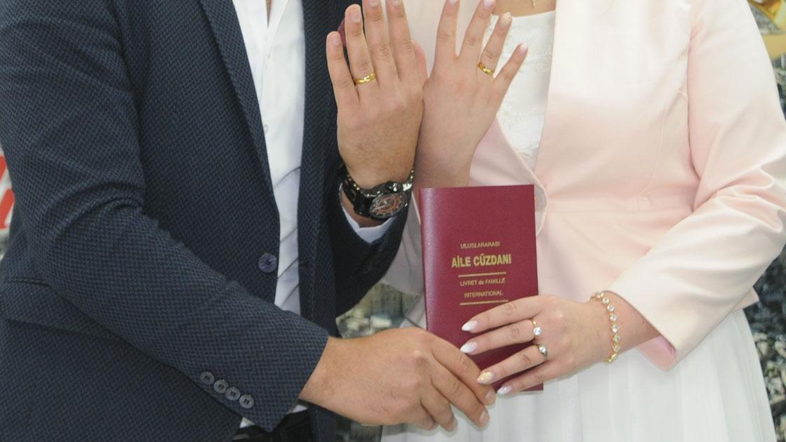 Muğla'da evlenen çiftlerin sayısı azaldı