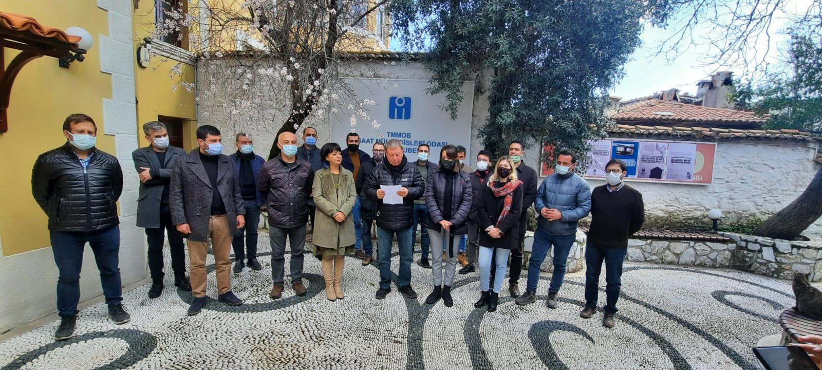 """İnşaat Mühendislerinden Büyükşehir'e """"Master Planı"""" Çağrısı"""