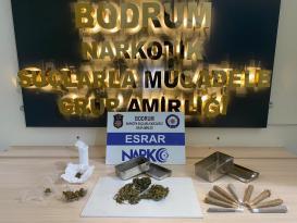uyuşturucu operasyonunda yakalanan 14 zanlı tutuklandı