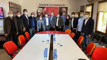 CHP Bodrum, Esnaf ve Denizcileri Dinledi