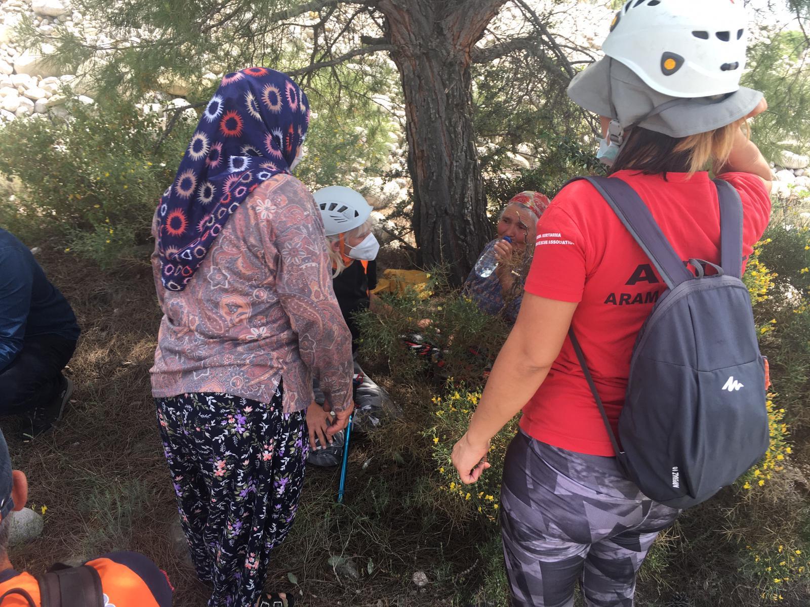 dört gündür haber alınamayan kadın derenin kenarında bulundu