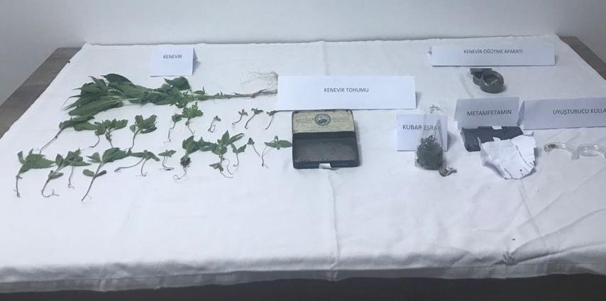 uyuşturucu operasyonlarında 3 şüpheli yakalandı