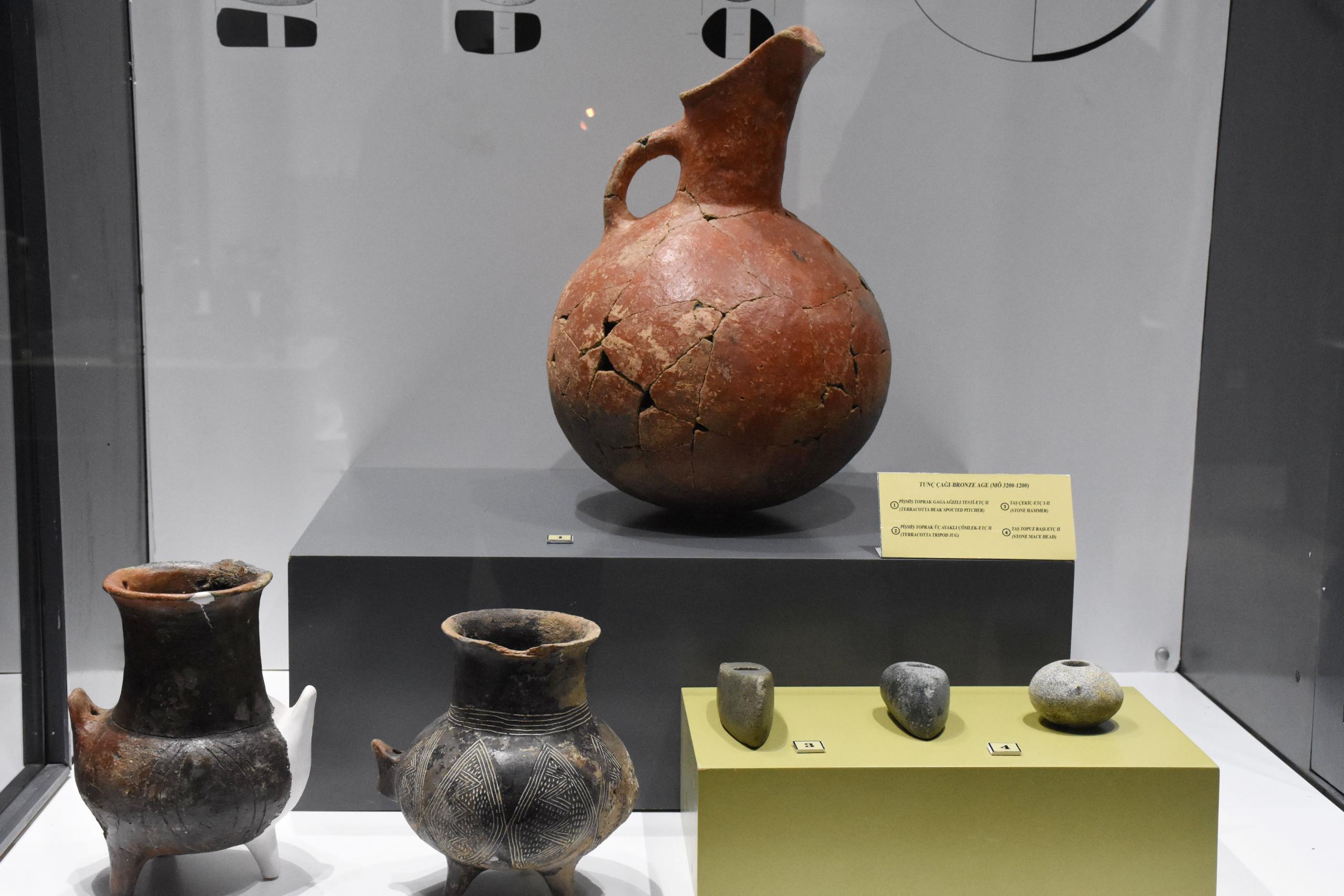 eski medeniyetlerin izinin yer aldığı müze, zengin koleksiyonuyla ilgi görüyor