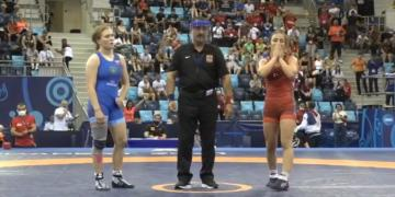 Muğla'nın gururu milli güreşçi İlyasoğlu finalde