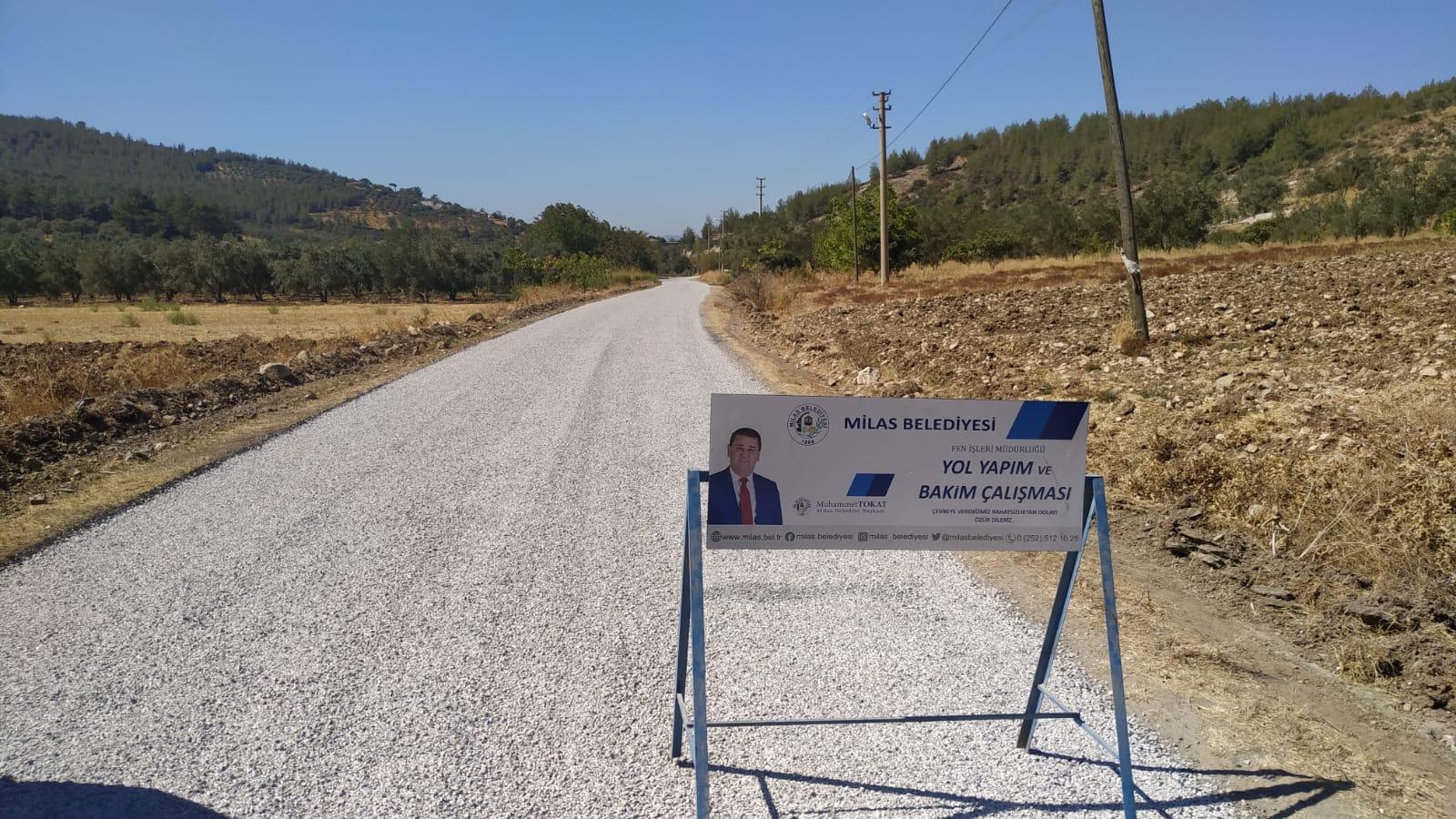 Milas Belediyesi çalışmalarını sürdürüyor