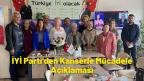İYİ Parti'den Kanserle Mücadele Açıklaması